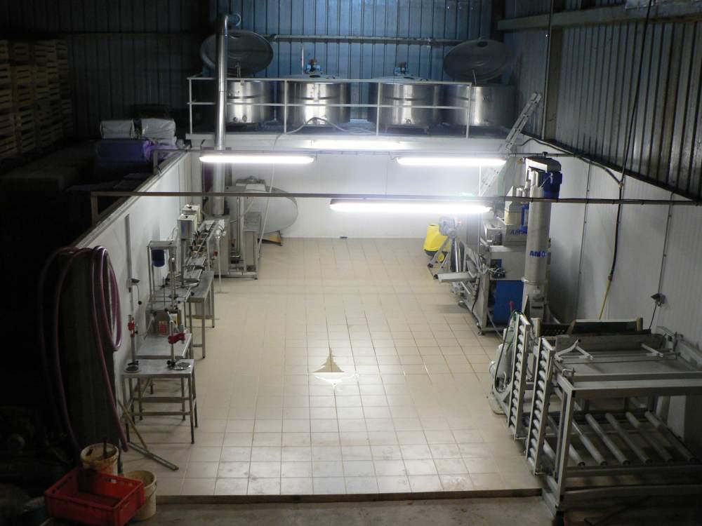 cumpără Hala de lucru pentru linii de suc automatizate