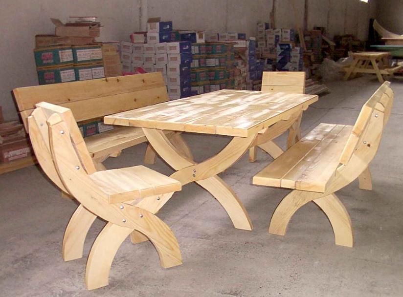 cumpără Mobila din lemn pentru gradina