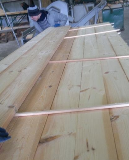 Pine Lumber Edge Board