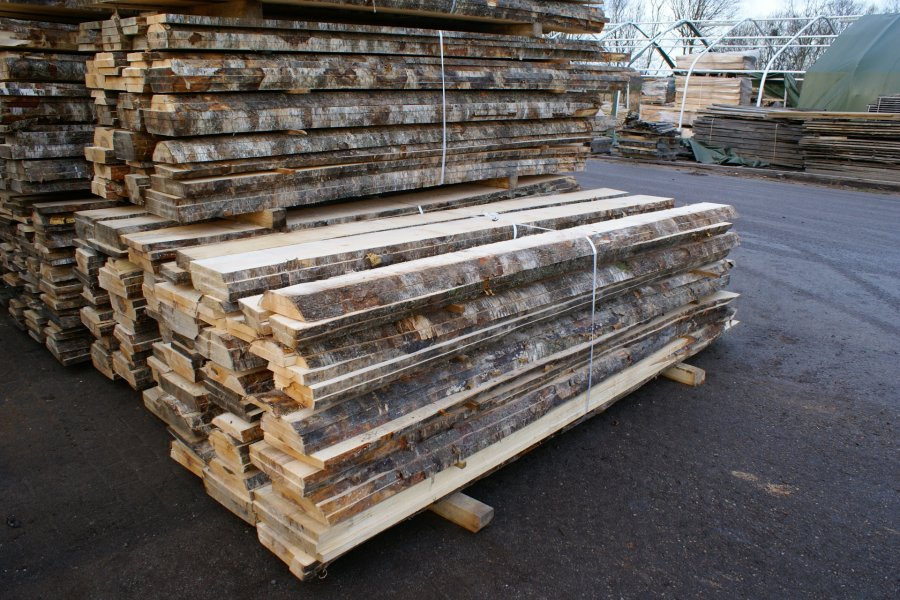 UNEDGED BIRCH LUMBER AA AB GRADE, KILN DRIED(KD)