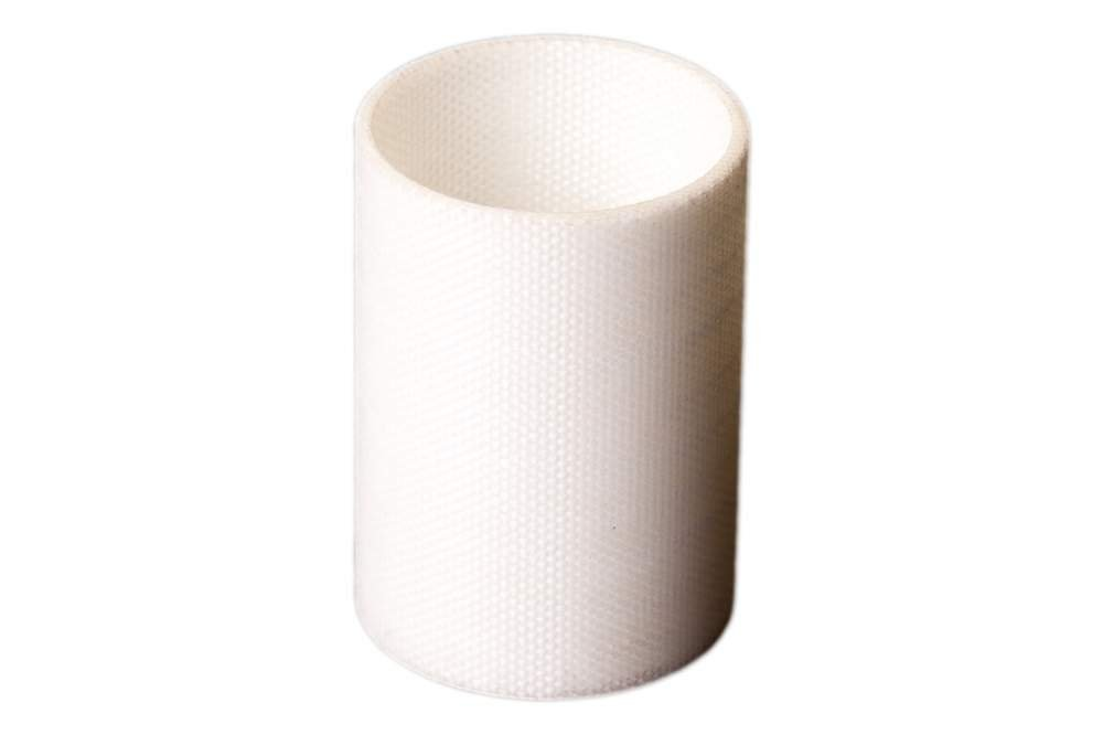 cumpără Voltis SI TU 21 round rolled silicone woven glass fabric tube especially used in those applications where good insulating characteristics at high frequencies are required.