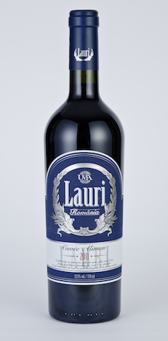 cumpără Vin rosu cupaj din soiurile: Merlot,Cabernet Sauvignon si Feteasca Neagra Cuvee Aliman 0.75l Lauri