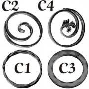 cumpără Cercuri din fier forjat