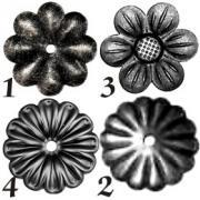 cumpără Floare din fier forjat