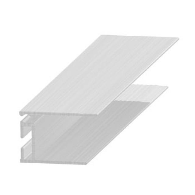 Profil îmbinare invizibilă, 20 mm, aluminiu