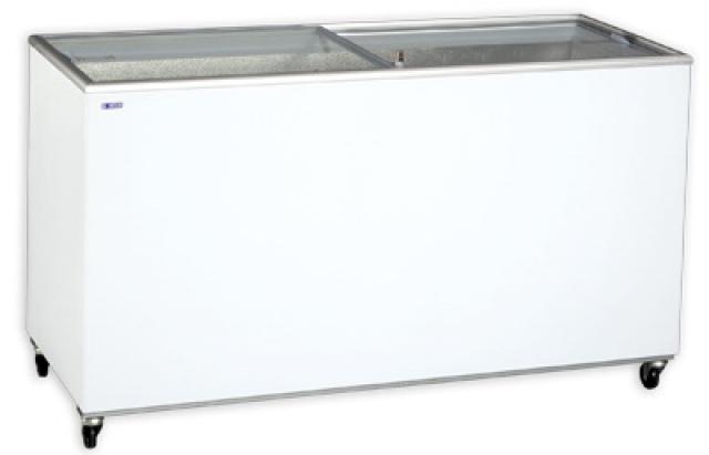 cumpără Ladă congelatoare cu capac transparent glisant   UDD 400 SCG