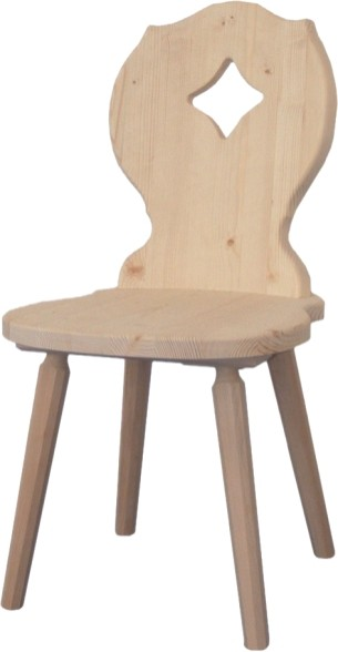 Scaun lemn masiv - SG100