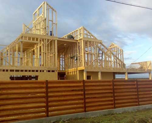 框架木头房子
