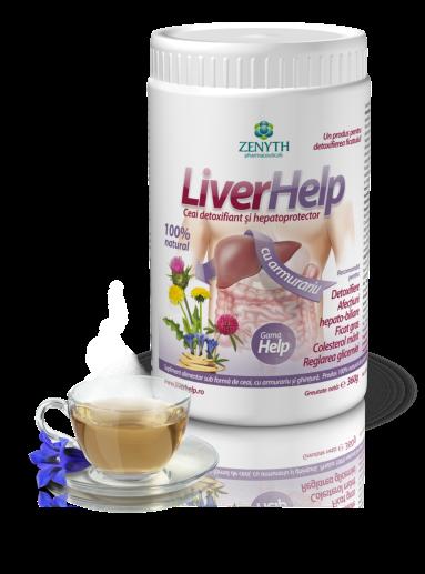 cumpără LiverHelp, ceai detoxifiant și hepatoprotector 100% natural