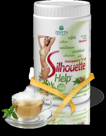 cumpără SilhouetteHelp, ceai pentru slabit, fortifiat cu inozitol