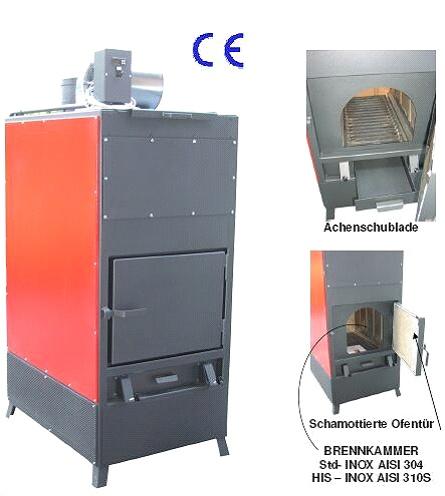 Generator aer cald Martina 350 kW