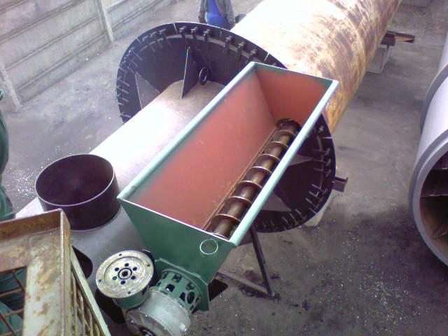 Uscator rumegus, tocatura 1.000kg/h uscat
