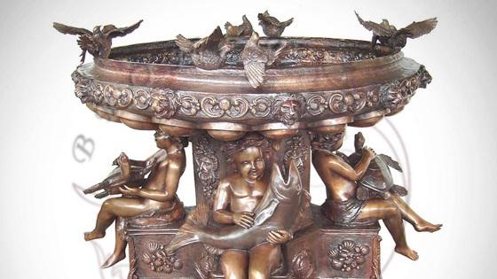 cumpără Făntâni de bronz masiv