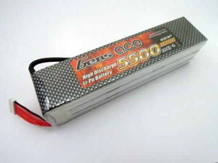 cumpără Acumulator LiPo GENS ACE 22.2 V/ 5500 mA/ 25C