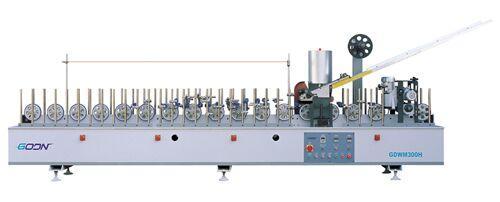 Instalatie de impachetat GDWM 300H pentru aplicarea unui strat acoperitor din furnir