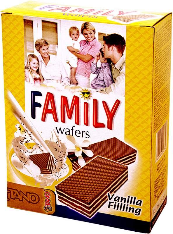 cumpără Napolitane vanilie Family
