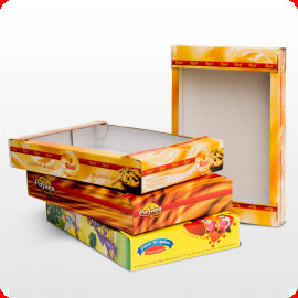 Buy Confectionery corrugated trays