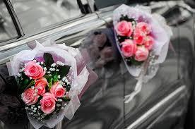 cumpără Aranjamente din flori pentru masini de nunta