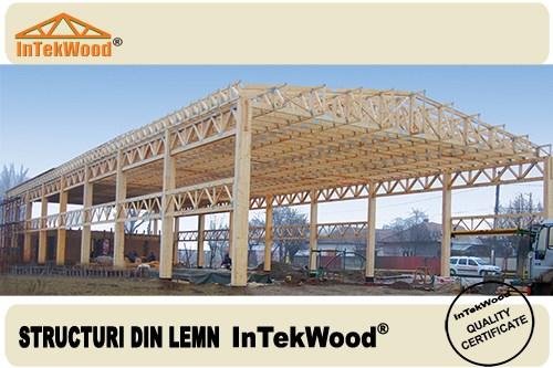 cumpără Hale industriale din lemn