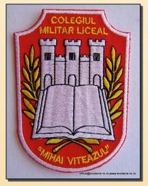 Emblema militara brodata