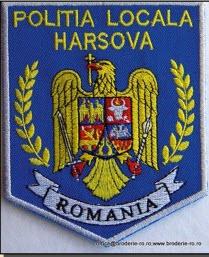 Embleme pentru politia locala brodate computerizat
