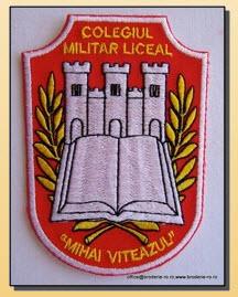 Emblema scolara brodata