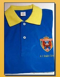 Tricouri personalizate cu logo brodat