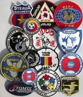 Embleme brodate computerizat