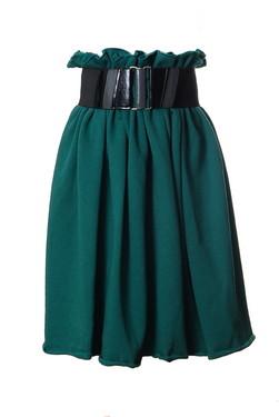 cumpără Fusta Bell Dark Green
