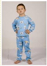cumpără Pijama din interlock cu manseta