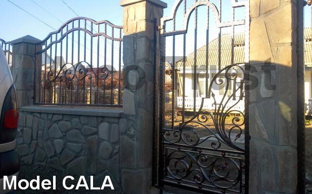 cumpără Model CALA- porti si garduri fier forjat