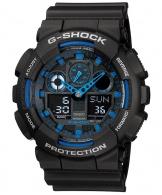 cumpără Ceas Casio G-Shock GA-100-1A2 Bold Face. Tough Body