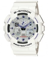 Ceas Casio G-Shock GA-100A-7A Bold Face. Tough Body