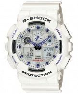 cumpără Ceas Casio G-Shock GA-100A-7A Bold Face. Tough Body