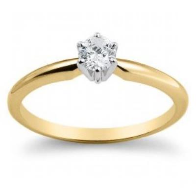 cumpără Inel de aur cu diamant