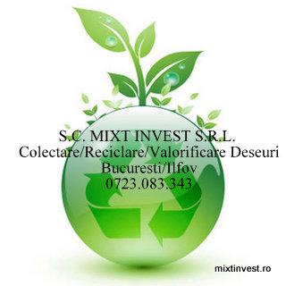 cumpără S.C. MIXT INVEST S.R.L. cumparam fier vechi