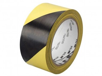 cumpără Banda de marcare 766I galben/negru 25mm