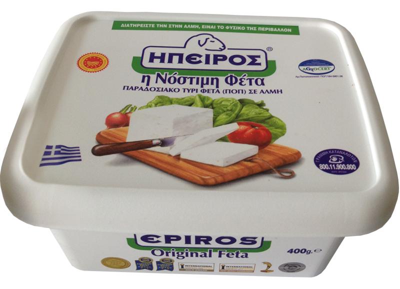 cumpără Branza Grecia   Branza Feta Epirus, casoleta 400gr.