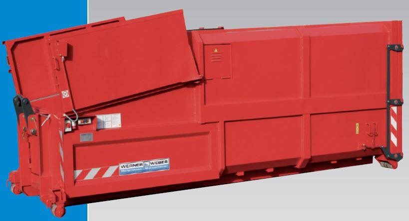 cumpără Prescontainere / Compactoare mobile / presele universale destinate deseurilor uscate reciclabile