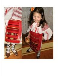 Costum popular oltenesc de fete