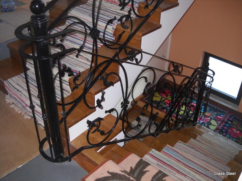 cumpără Scari interioare din fier forjat