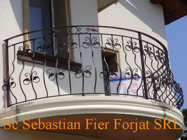 cumpără Balustrade balcoane fier forjat