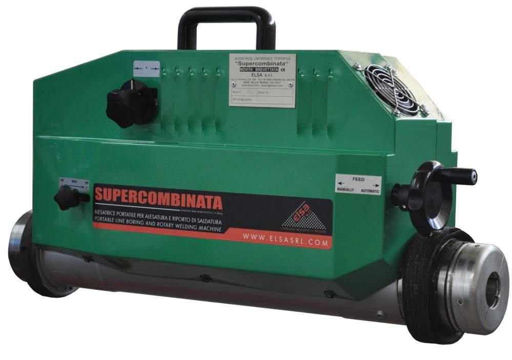 cumpără Masina portabila pentru alezat si sudat 42-250 mm SUPERCOMBINATA SC1 40/1 COMPACT (ELSA-ITALIA)