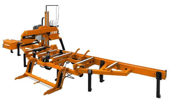cumpără Gater panglica lemn Wood Mizer cu intoarcere hidraulica — LT 20