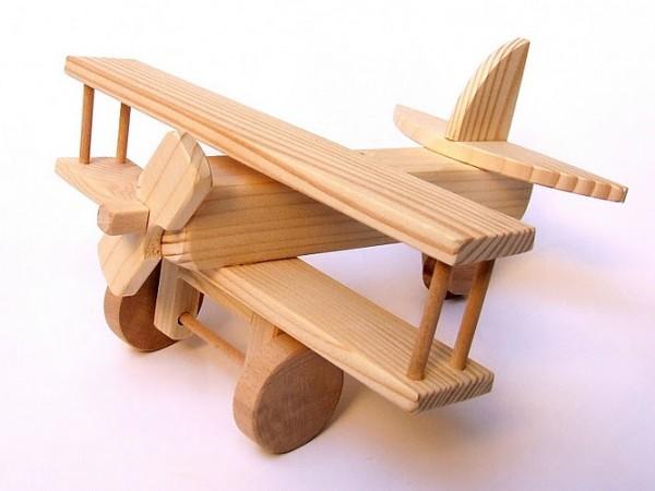 cumpără Avion pentru copii din lemn