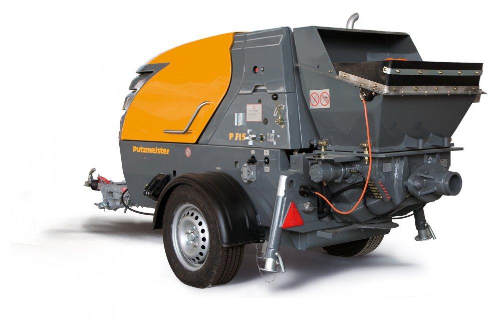 cumpără Pompa de beton Putzmeister P715
