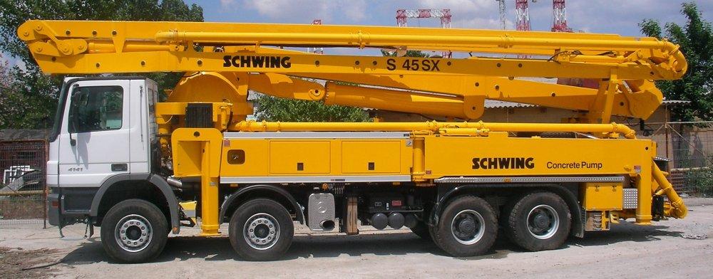 cumpără Pompa de beton Schwing S45 SX / Mercedes-Benz