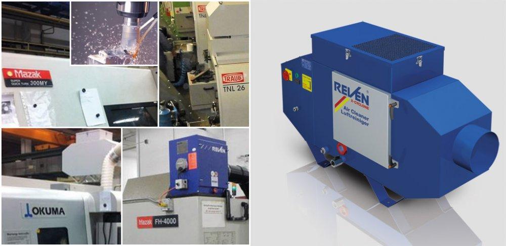 cumpără Echipament pentru filtrarea cetei de ulei sau emulsie din masini unelte CNC