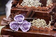 Tort De Nunta Cu Ornament Din Ciocolata Buy In Oradea On Română