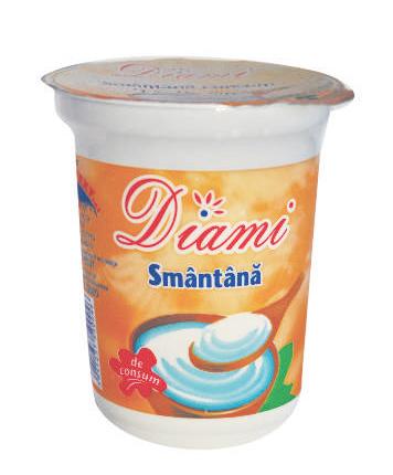 cumpără SMANTANA DIAMI 20% 400 GRAME